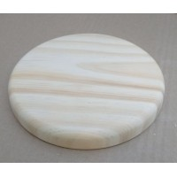 base redonda de 15 mm com 9 cm de diametro e boleada