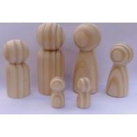 Coleção de bonecos em madeira, Uma constelação numero 012