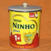 TAMPA DE MDF CRU COM PUXADOR PARA LEITE NINHO 800 GRAMAS