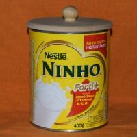 TAMPA DE MDF CRU COM PUXADOR PARA LEITE NINHO 400 GRAMAS